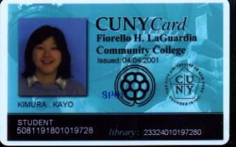 Kayo's Student Card
