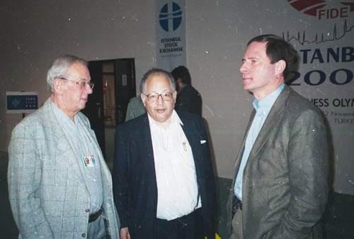 Egon Ditt, Gunther Loewenthal and Herman Hamers