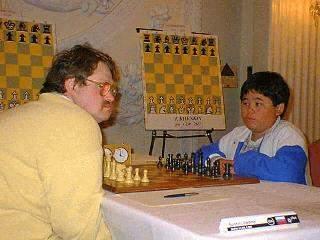 Hikaru Nakamura faces Grandmaster Epishin on Board One of New York Open