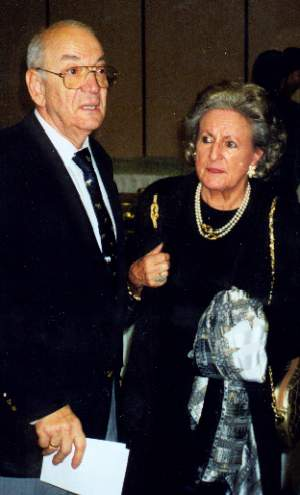 Victor Korchnoi and his Wife