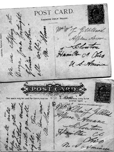 Postcards from M. Sloane