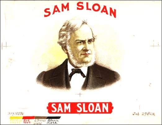 Sam Sloan, Railroad tycoon