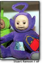 National News Briefs; Falwell Sees Gay In a Teletubby